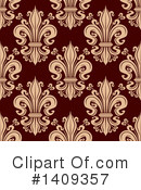 Royalty-Free (RF) Fleur De Lis Clipart Illustration #1409357