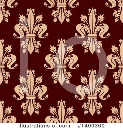 Fleur De Lis Clipart #1409360 by Vector Tradition SM