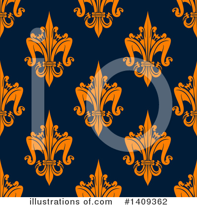 Fleur De Lis Clipart #1409362 by Vector Tradition SM