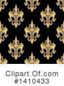 Royalty-Free (RF) Fleur De Lis Clipart Illustration #1410433