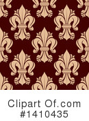 Royalty-Free (RF) Fleur De Lis Clipart Illustration #1410435
