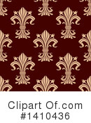 Royalty-Free (RF) Fleur De Lis Clipart Illustration #1410436