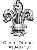 Royalty-Free (RF) fleur de lys Clipart Illustration #1049710