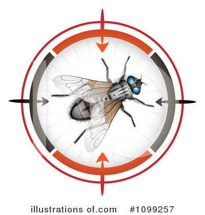 House Fly Clipart #1099257 by merlinul