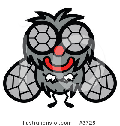 House Fly Clipart #37281 by Andy Nortnik
