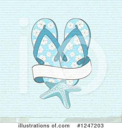 Sandals Clipart #1247203 by elaineitalia
