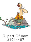 Royalty-Free (RF) Flood Clipart Illustration #1044487