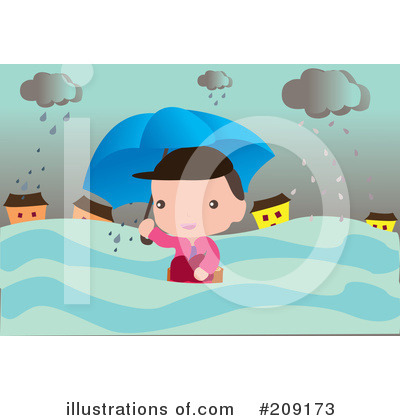 Rain Clipart #209173 by mayawizard101