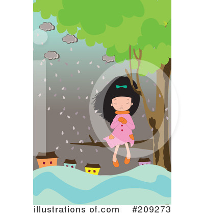 Rain Clipart #209273 by mayawizard101