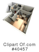 Floor Plan Clipart #40457 by Frank Boston