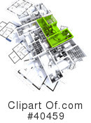 Floor Plan Clipart #40459 by Frank Boston