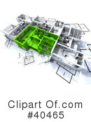 Floor Plan Clipart #40465 by Frank Boston