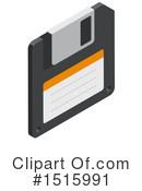 Floppy Disk Clipart #1515991 by beboy