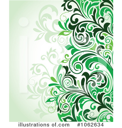 Floral Background Clipart #1062634 by Vector Tradition SM