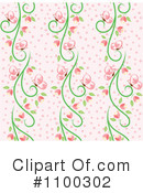 Floral Background Clipart #1100302