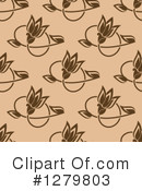 Floral Background Clipart #1279803 by Vector Tradition SM