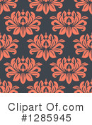 Floral Background Clipart #1285945 by Vector Tradition SM
