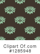 Floral Background Clipart #1285948 by Vector Tradition SM