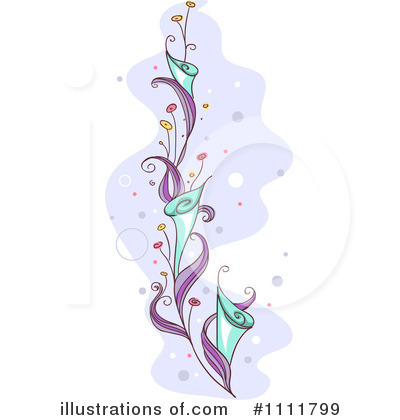 Floral Clipart #1111799 by BNP Design Studio