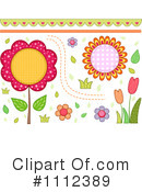 Floral Clipart #1112389 by BNP Design Studio