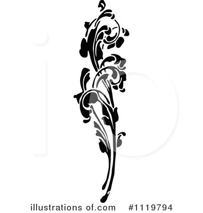 Flowers Clipart #1119794 by Prawny Vintage