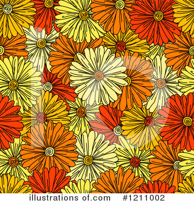 Daisy Clipart #1211002 by Vector Tradition SM