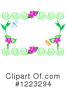 Royalty-Free (RF) Floral Clipart Illustration #1223294