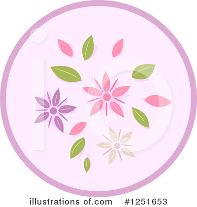 Royalty-Free (RF) Floral Clipart Illustration by BNP Design Studio - Stock Sample #1251653