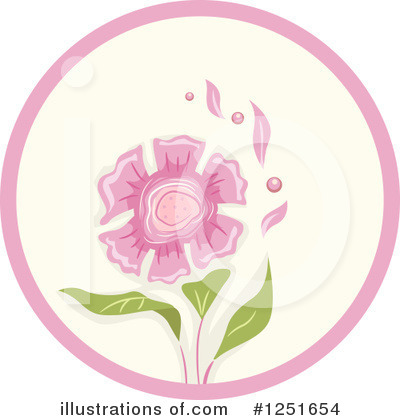 Flower Clipart #1251654 by BNP Design Studio