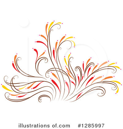Royalty-Free (RF) Floral Clipart Illustration by Cherie Reve - Stock Sample #1285997