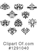 Floral Clipart #1291040 by Vector Tradition SM
