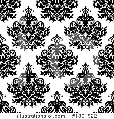 Damask Clipart #1301922 by Vector Tradition SM
