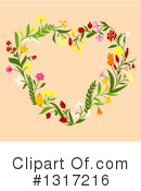 Floral Clipart #1317216 by Vector Tradition SM