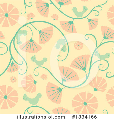 Floral Clipart #1334166 by Cherie Reve