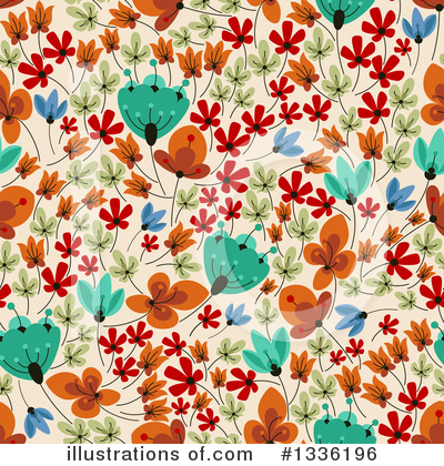 Floral Background Clipart #1336196 by Vector Tradition SM