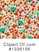 Royalty-Free (RF) Floral Clipart Illustration #1336196