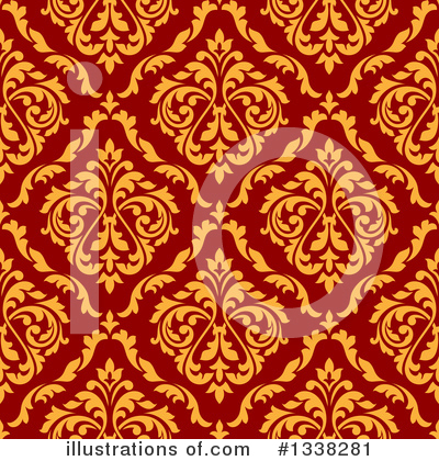 Damask Clipart #1338281 by Vector Tradition SM