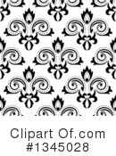 Royalty-Free (RF) Floral Clipart Illustration #1345028