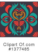 Royalty-Free (RF) Floral Clipart Illustration #1377485