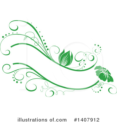 Floral Clipart #1407912 by dero