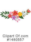 Floral Clipart #1480557 by Cherie Reve