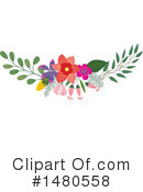 Floral Clipart #1480558 by Cherie Reve