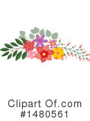 Floral Clipart #1480561 by Cherie Reve