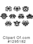 Floral Design Element Clipart #1295182 by Vector Tradition SM