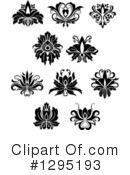 Floral Design Elements Clipart #1295193 by Vector Tradition SM