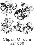 Floral Elements Clipart #21660 by OnFocusMedia