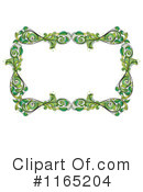 Floral Frame Clipart #1165204 by Graphics RF