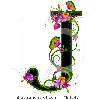 Letter J Clipart #84547 by BNP Design Studio