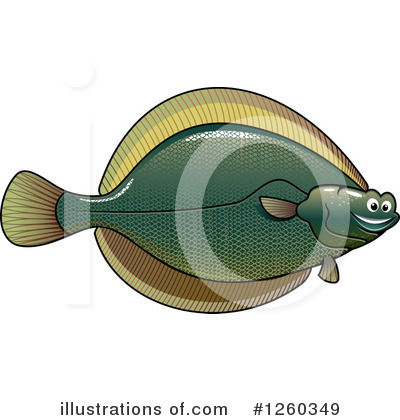 Fish Clipart #1260349 by Vector Tradition SM