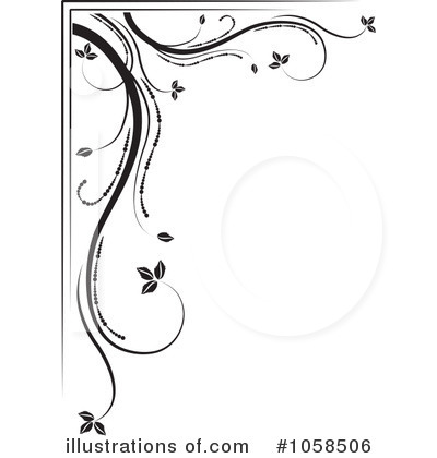 Royalty-Free (RF) Flourish Clipart Illustration by MilsiArt - Stock Sample #1058506